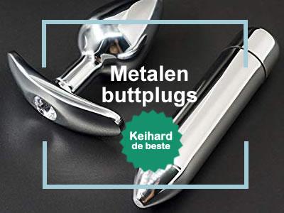 Buttplugs van metaal